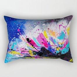 Night Lotus Rectangular Pillow