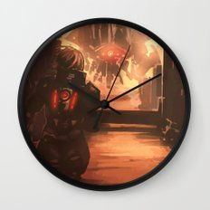 Reaper Scout Wall Clock