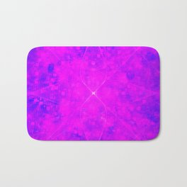 Purple Disco Vibes Bath Mat