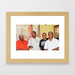 Doowop Group Framed Art Print