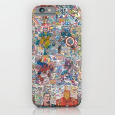 Vintage Comic Superheroes Galore (Limited Time) Slim Case iPhone 6