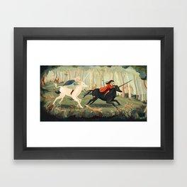 The Unicorn Dream by Emily Winfield Martin Framed Art Print