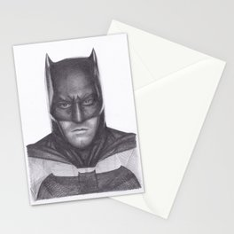 Ben Affleck Bat man Stationery Cards