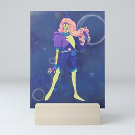 Art: Outer Space Baby Mini Art Print