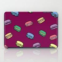 macaroons iPad Cases featuring parisian macaroons by yayanastasia
