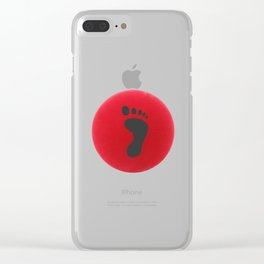 Football Pun Clear iPhone Case