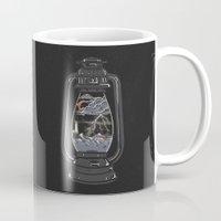 lantern Mugs featuring Storm Lantern... by NDTank