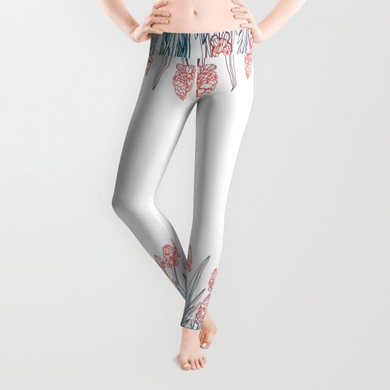 Hyacinths Leggings