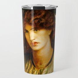 "Dante Gabriel Rossetti ""The Women's Window"" Travel Mug"