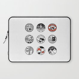 blurry icons Laptop Sleeve