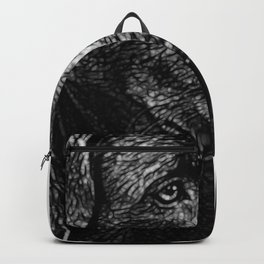 Loving labrador Backpack