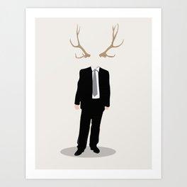 Nature and Society Art Print