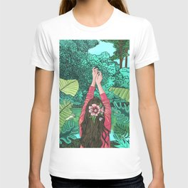 Comic Book Jungle T-shirt
