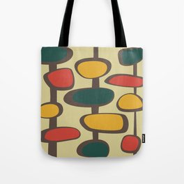 Mid Century Modern Baubles (gold) Tote Bag
