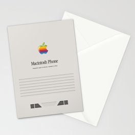 Macintosh phone Vintage Stationery Cards