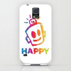 HAPPY  Stripes Slim Case Galaxy S5