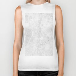 White Light Gray Concrete Biker Tank
