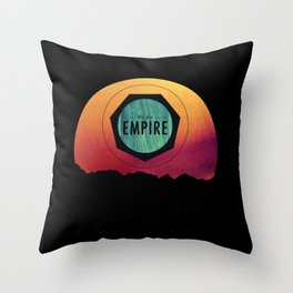 We Are Empire Throw Pillow