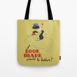 Book Mark Tote Bag