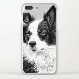 Dog Portrait 02 Clear iPhone Case