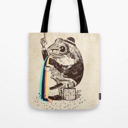 Strange Frog Tote Bag
