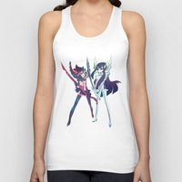 kill la kill Tank Tops featuring Kill la Kill by sarlisart