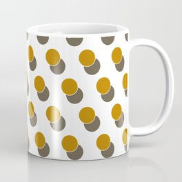 Ginger Dot Spot Geometric Print Coffee Mug