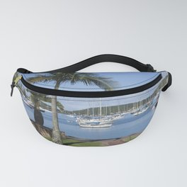 Boats in the Bay Fanny Pack