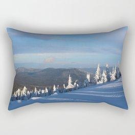 Snow pines Rectangular Pillow