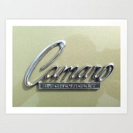 Camero Art Print