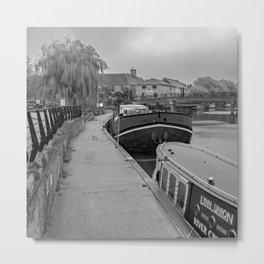 Ely Riverside, Cambridgeshire Metal Print