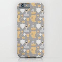 King Arthur Pattern iPhone Case