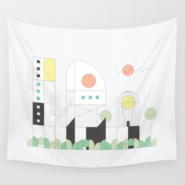 Forma 4 by Taylor Hale Wall Tapestry