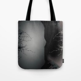 Branching Into Darkness Tote Bag