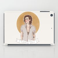 harry styles iPad Cases featuring Harry Styles Titties Out by vulcains