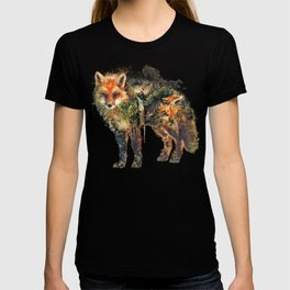The Fox Nature Surrealism T-shirt
