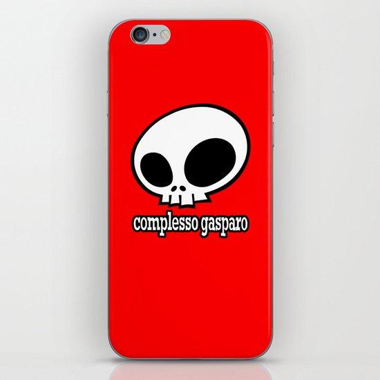 complesso gasparo iPhone & iPod Skin