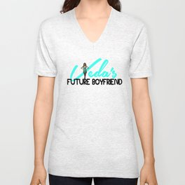 VEDA's Future Boyfriend Unisex V-Neck
