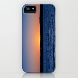 Blue Sunrise iPhone Case