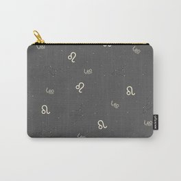 Leo Pattern Carry-All Pouch