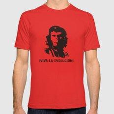 Viva La Evolucion Mens Fitted Tee Red X-LARGE