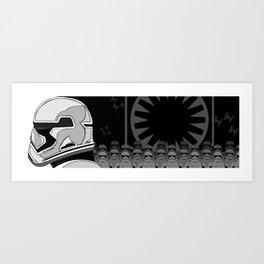 The Trooper Art Print