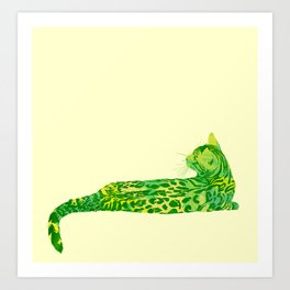 I, Bengal Art Print