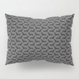 Dachshund Silhouette Pillow Sham