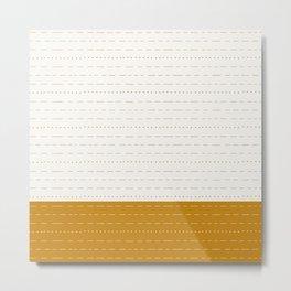 Coit Pattern 56 Metal Print