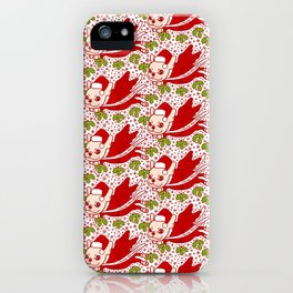 Christmas with a Frenchie iPhone Case