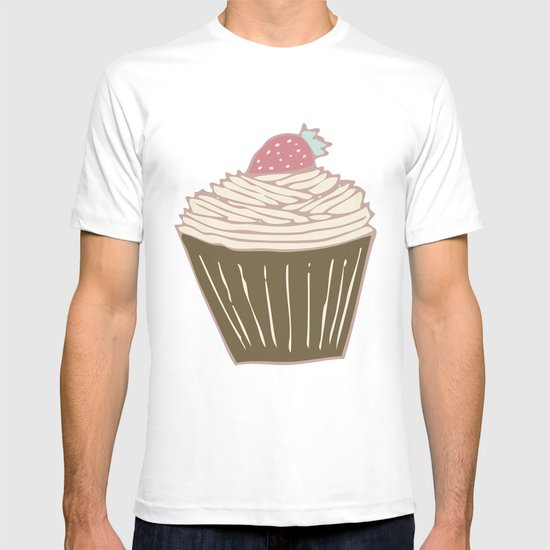 Cupcakes Curly T-shirt