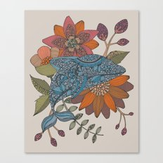 Blue Dolphin Canvas Print