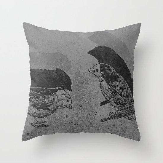 Stop Motion  Throw Pillow