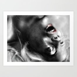 The bad company of lucy Art Print